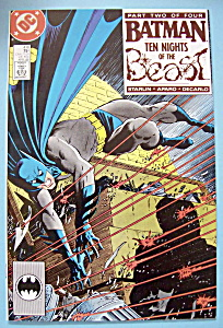 Batman Comics - April 1988 - Ten Nights Of The Beast