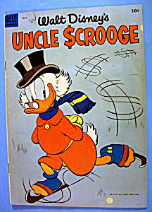 Walt Disney's Uncle Scrooge Comic #8-1955