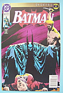 Batman Comics - Late May 1993 - Redslash