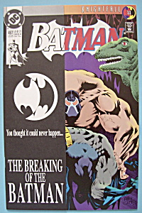 Batman Comics - Late July 1993 - The Broken Bat