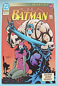 Batman Comics - August 1993 - Knights In Darkness