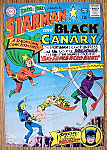 Starman & Black Canary Comic #62-october-november 1965