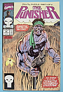 The Punisher Comics-late Sept 1990-jigsaw Puzzle