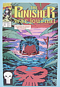 The Punisher War Journal Comics - August 1990
