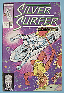 Silver Surfer Comics - Jan 1989 - Playing With Matches