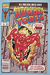 Human Torch Comics - April 1990 - Lighted Torch
