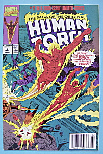 Human Torch Comics - May 1990 - World On Fire