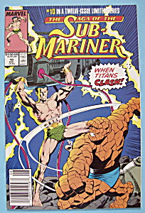 Sub - Mariner Comics - August 1989 - Losses In Battle (Image1)