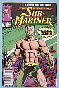 Sub - Mariner Comics - October 1989 -Triumphs & Tragedy (Image1)