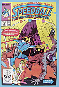 Speedball The Masked Marvel Comics - Oct 1988