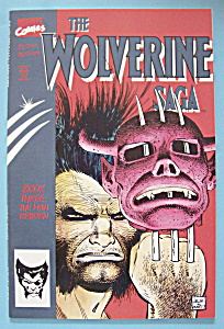 The Wolverine Saga Comics-dec 1989-book 3: Man Reborn