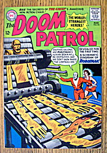 The Doom Patrol Comic #94-march 1965
