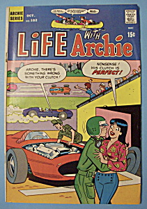 Life With Archie Comics - October 1970 - Paddle Battle