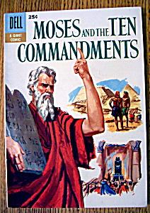 Moses & The Ten Commandments Comic #1-1957 (Image1)