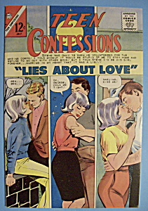 Teen Confessions Comics - July 1966 - Lies About Love (Image1)