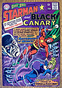 Starman & Black Canary Comic #61-august-september 1965