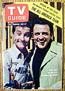 TV Guide-December 1-7, 1962-Marty Ingels & John Astin (Image1)
