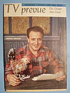 TV Prevue - January 18-24, 1959 - George Menard (Image1)