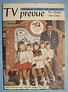 Tv Prevue - March 9-15, 1958 - Michael Kirby