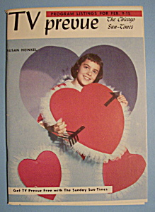 Tv Prevue - Feb 9-15, 1958 - Susan Heinkel