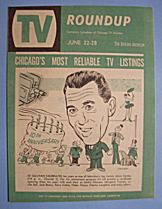 Tv Roundup - June 22-28, 1958 - Ed Sullivan