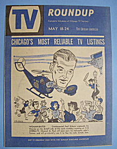 Tv Roundup - May 18-24, 1958 - Paul Gibson