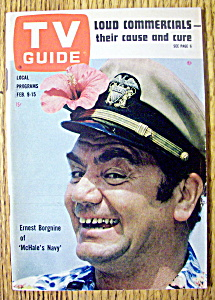 Tv Guide-february 9-15, 1963-ernest Borgnine