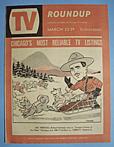 Tv Roundup - March 23-29, 1958 - Richard Simmons