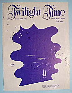 Sheet Music For 1948 Twilight Time