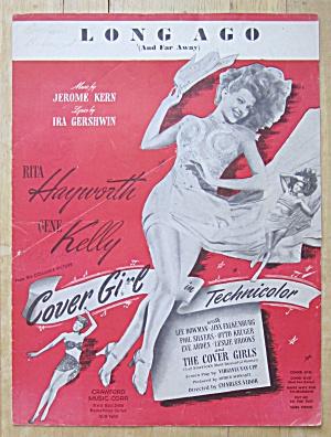 Sheet Music For 1944 Long Ago (Rita Hayworth Cover) (Image1)
