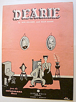 Sheet Music For 1950 Dearie (Image1)