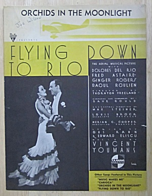 Sheet Music For 1933 Orchids In The Moonlight (Image1)