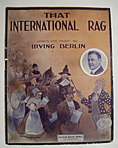 Sheet Music For 1913 That International Rag