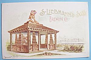 1893 Columbian Expo Leibemann's Brewing Co. Trade Card (Image1)