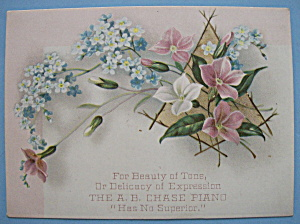 1893 Columbian Exposition A. B. Chase Piano Trade Card (Image1)