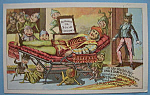 1893 Columbian Expo Marks Folding Chair Trade Card (Image1)