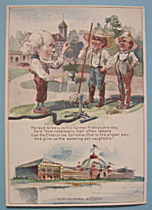 Horticultural Building (1893 Columbian Expo Trade Card) (Image1)