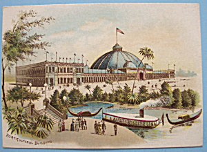 Horticultural Building Trade Card (1893 Columbian Expo) (Image1)
