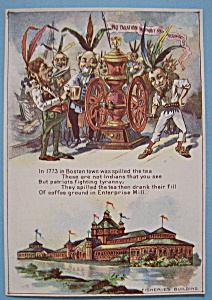 Fisheries Building-1893 Columbian Exposition Trade Card (Image1)