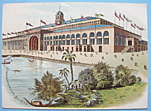 Transportation Building Trade Card-1893 Columbian Expo (Image1)