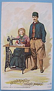 1893 Columbian Exposition Singer Trade Card-Netherland (Image1)
