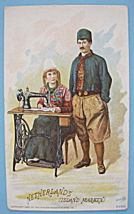 1893 Columbian Expo Singer Trade Card (Netherlands) (Image1)