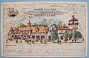 Swiss Village Postcard (1907 Jamestown Exposition)