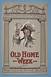 1907 Old Home Week Postcard-(Providence, Rhode Island)