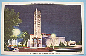 Standard Tower To The Sun Postcard-Calif./Pacific Expo (Image1)