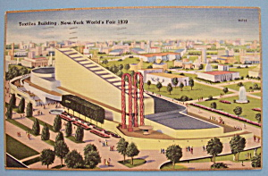 Textile Building Postcard (1939 New York World's Fair) (Image1)