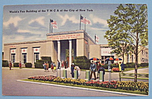 YMCA Building Postcard (1939 New York World's Fair) (Image1)