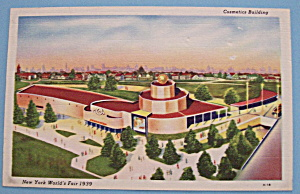 Cosmetics Building Postcard-1939 New York World's Fair (Image1)