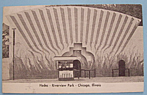 Riverview Park Picture Postcard Of Hades (Chicago)
