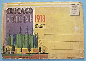 Travel Building Postcard Folder (Century Of Progress) (Image1)
